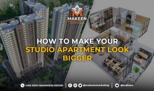 How to Make Your Studio Apartment look bigger