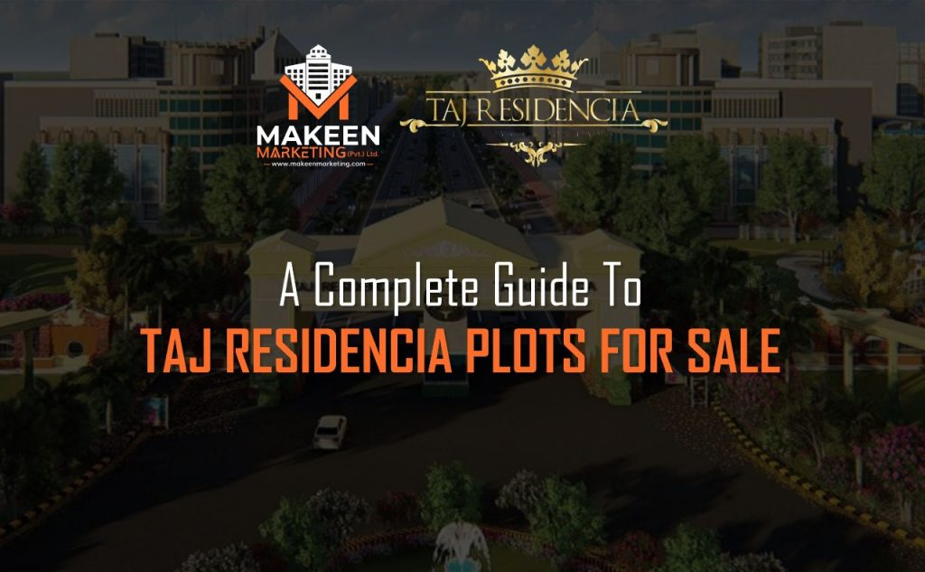 taj residencia plots for sale