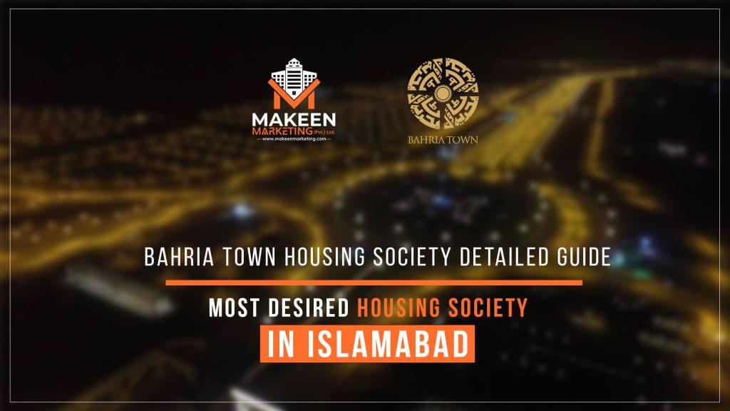 bahria town housing society